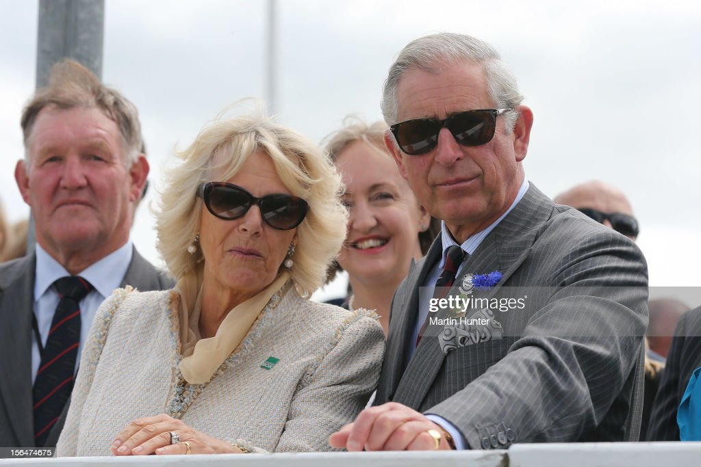 Prince Charles, Prince of Wales and Camilla, Duchess of Cornwall watch a pony race at Canterbury A&P Show on November 16, 2012 in Christchurch, New Zealand.The Royal couple are in New Zealand on the last leg of a Diamond Jubilee that takes in Papua New Guinea, Australia and New Zealand.