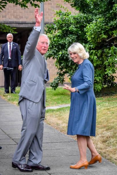 GBR: Royal visit to Gloucestershire Royal Hospital