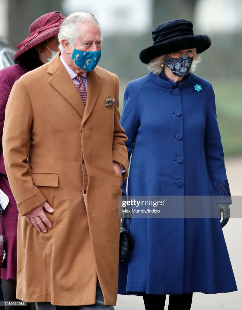 The Prince Of Wales And The Duchess Of Cornwall Visit Salisbury Cathedral : News Photo