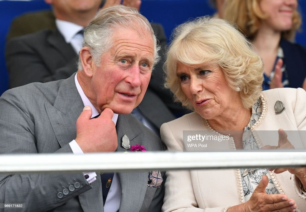 Prince Charles, Prince of Wales and Camilla, Duchess of Cornwall, who is also Vice-President of the Royal Cornwall Agricultural Association attend the Royal Cornwall Show on June 07, 2018 in Wadebridge, United Kingdom.
