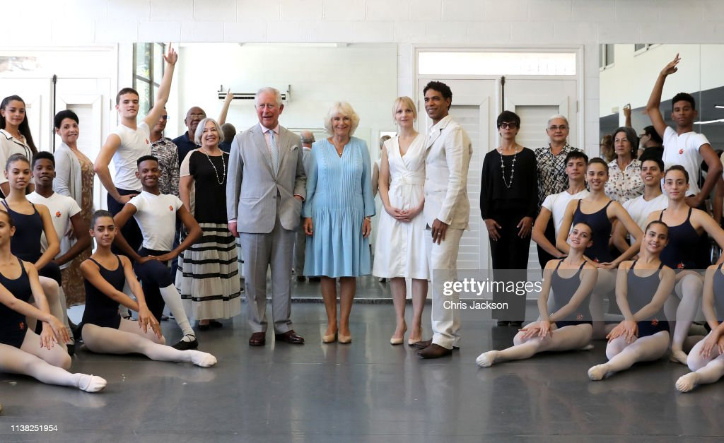 The Prince Of Wales And Duchess Of Cornwall Visit Cuba : Nachrichtenfoto