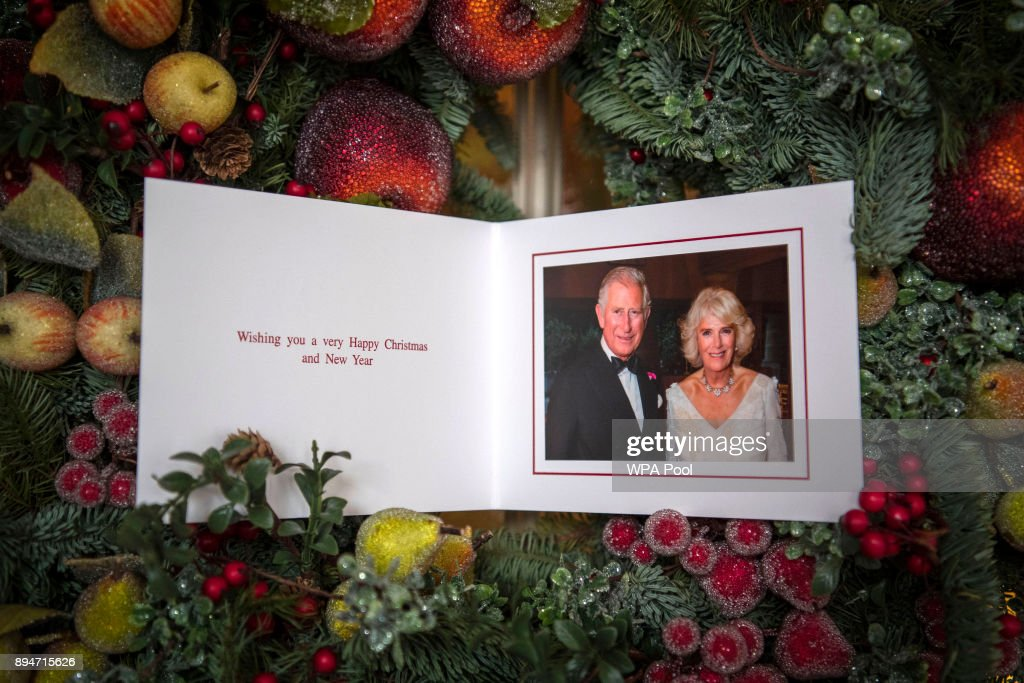 Prince of Wales and Duchess of Cornwall's 2017 Christmas card