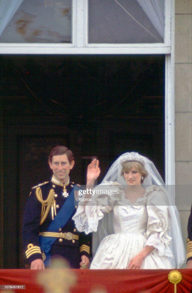 Charles and Diana, Royal Wedding : News Photo