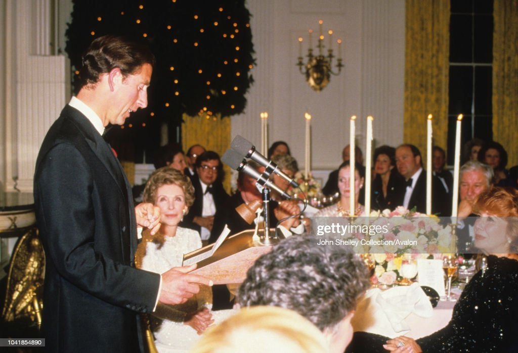 Charles and Diana Visit USA : News Photo