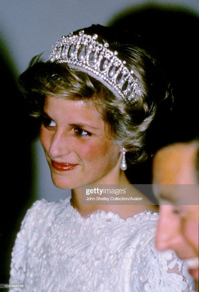 Charles and Diana Visit USA : News Photo