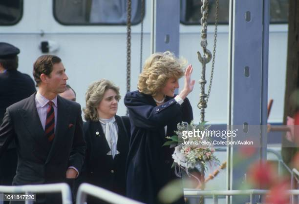 Prince Charles Prince of Wales and Diana Princess of Wales visit Italy Anne Beckwith Smith Lady in Waiting 1st April 1985
