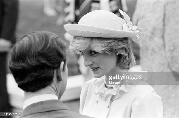 Prince Charles, Prince of Wales and Diana, Princess of Wales visit Saint John and Rothesay, Canada, June 1983.