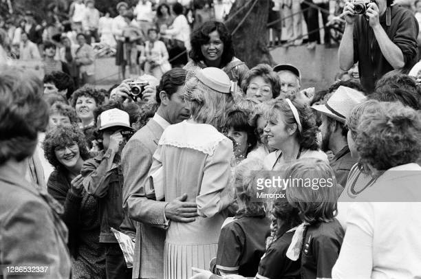 Prince Charles, Prince of Wales and Diana, Princess of Wales visit Prince Edward Island, Canada. June 1983.