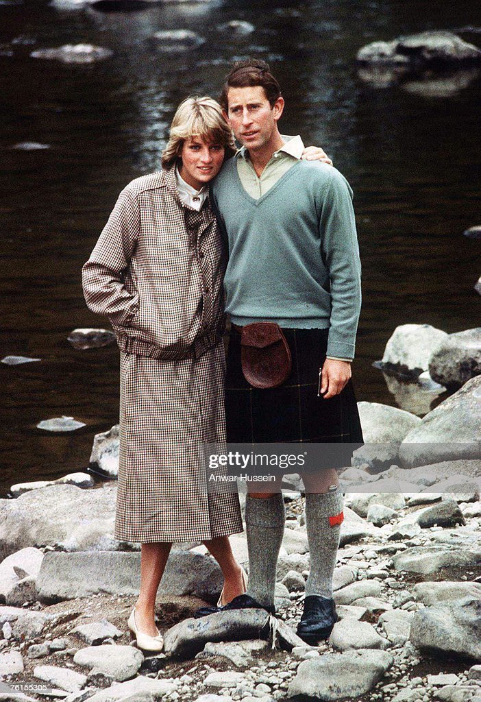 Princess Diana, Princess of Wales and Prince Charles, Prince of Wales, honeymoon in Balmoral in August 1981.