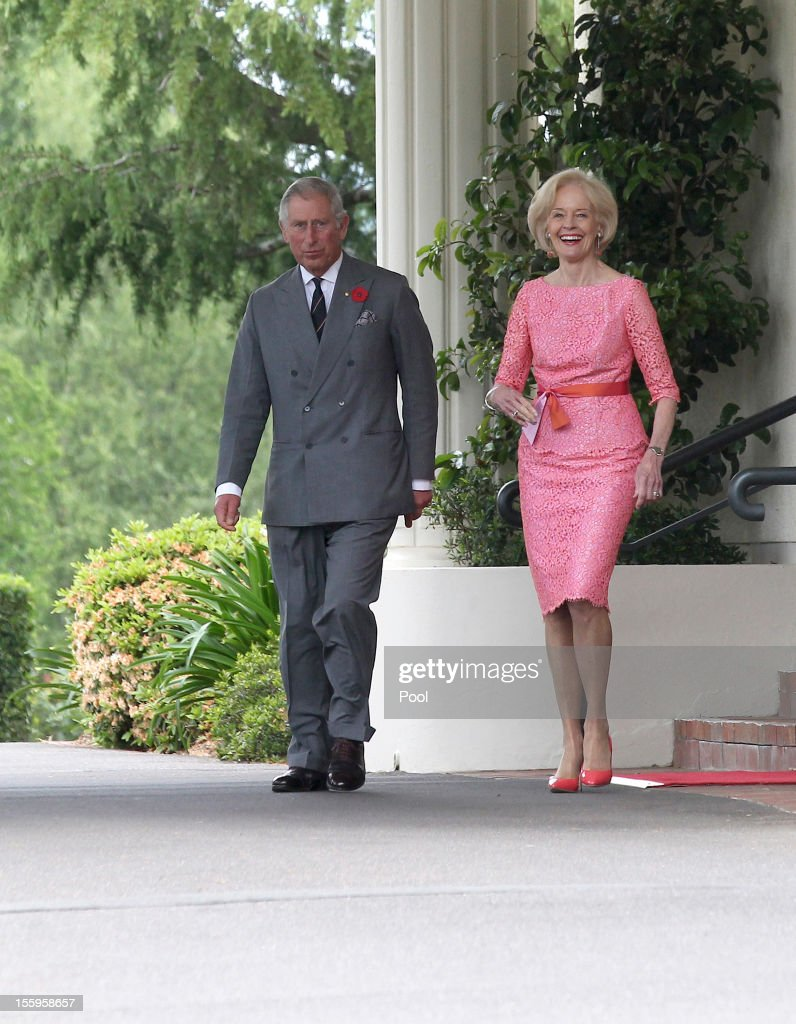The Prince Of Wales And Duchess Of Cornwall Visit Australia - Day 6
