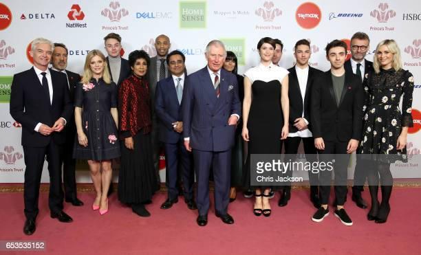 Prince Charles, Prince of Wales and Phillip Schofield, Robert Lindsay, Emilia Fox, Roman Kemp, Moira Stuart, Thierry Henry, Claudia Winkleman, Gemma...