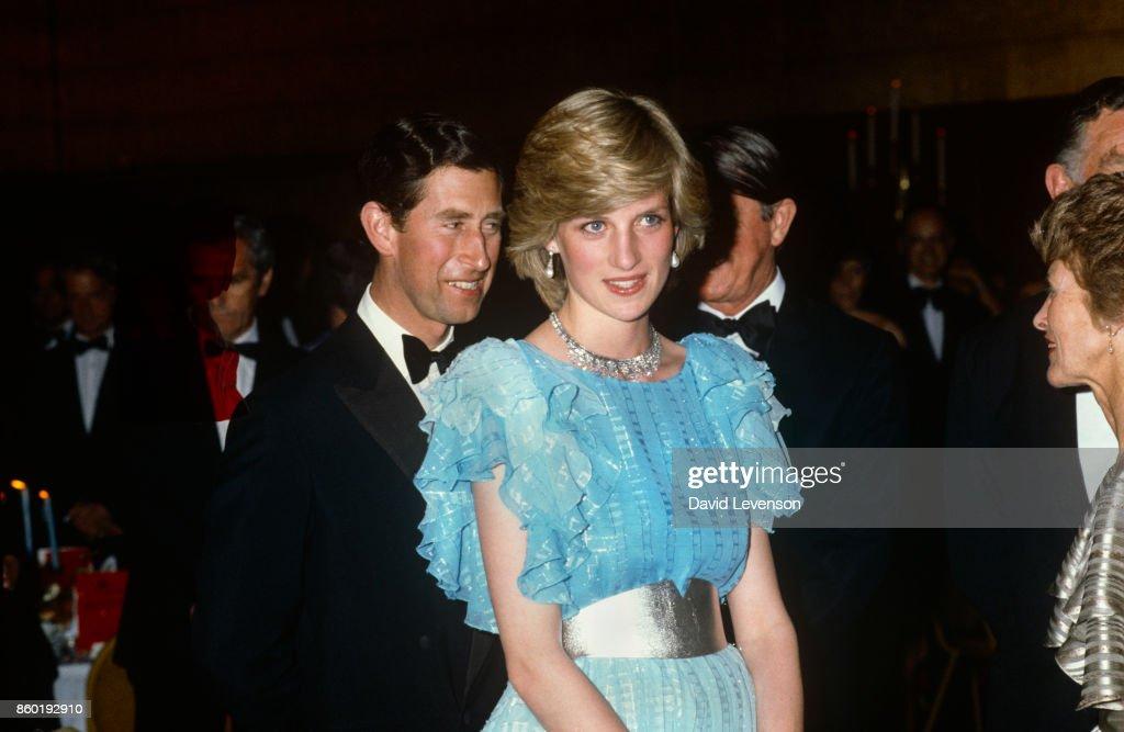 Prince Charles, Prince of Wales and Diana, Princess of Wales  Royal Tour of Australia : News Photo