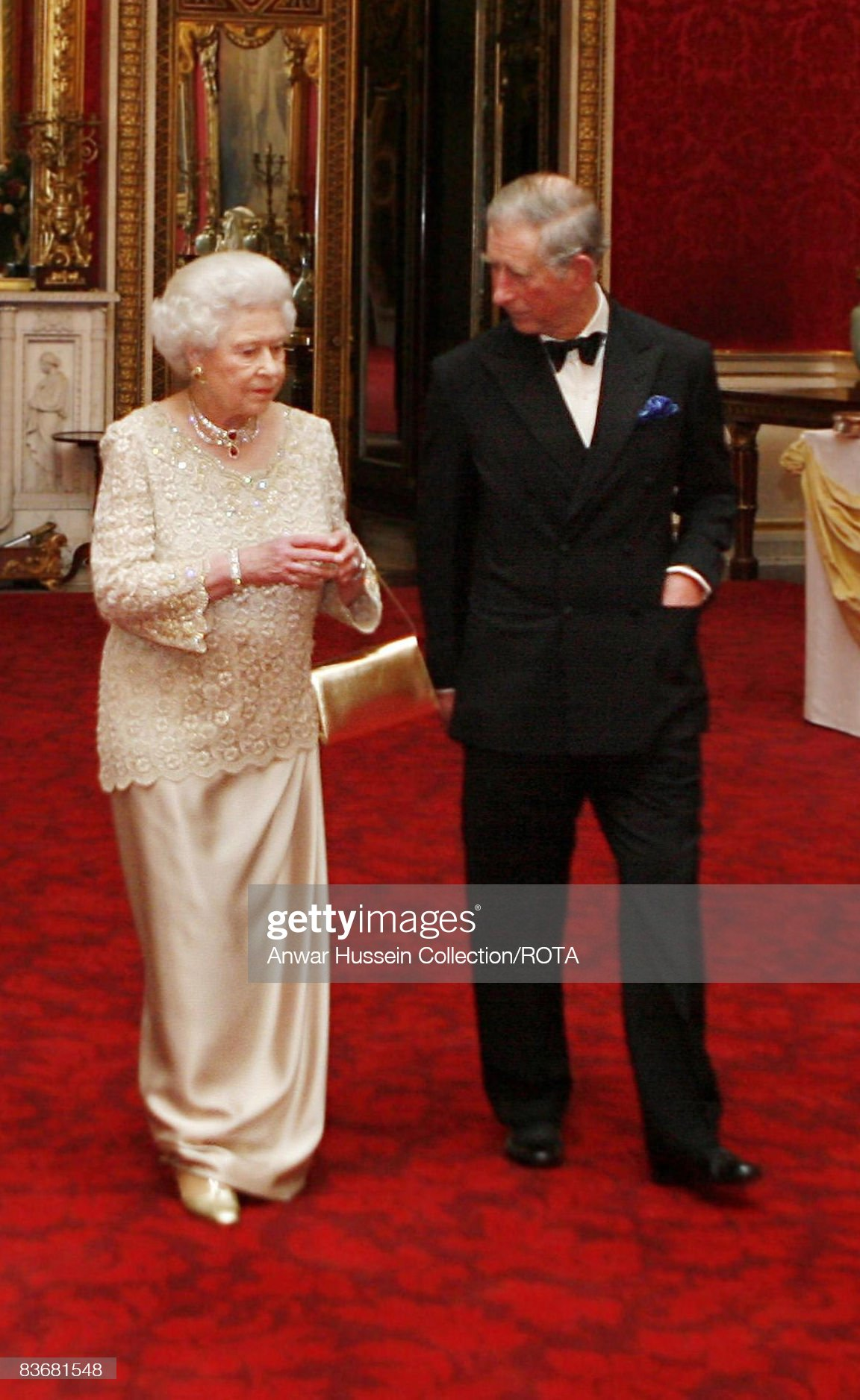 Queen Elizabeth Hosts Gala Party For Prince Charles' 60th Birthday : News Photo