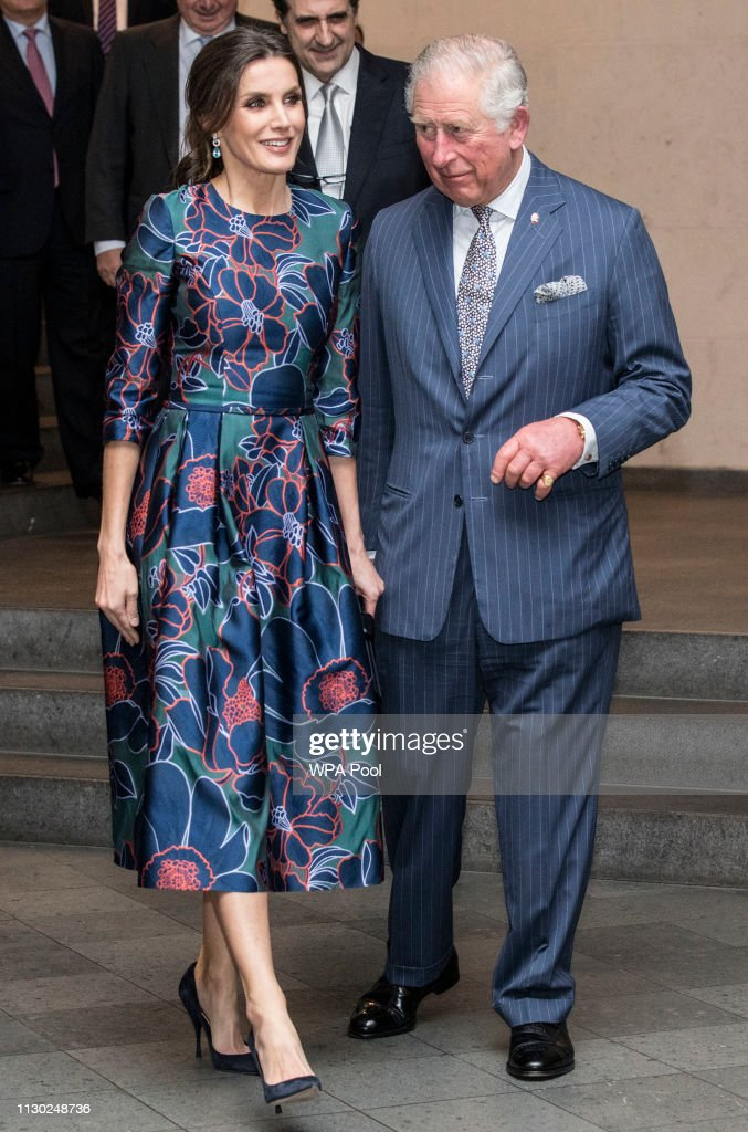 "GBR: Royals Attend The Opening Of ""Sorolla: Spanish Master of Light"" At The National Gallery"