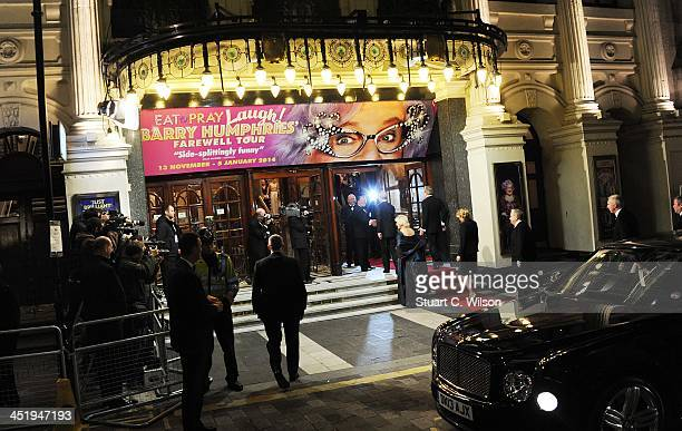 Prince Charles Prince Of Wales and The Duchess Of Cornwall attend the Royal Variety Performance at London Palladium on November 25 2013 in London...