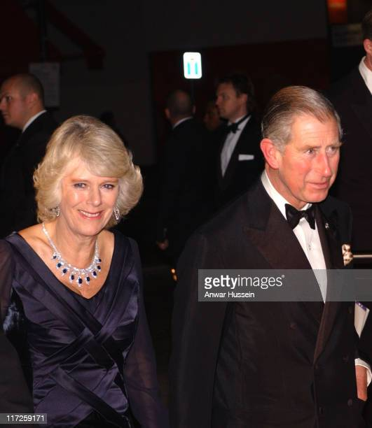 Prince Charles Prince of Wales and the Duchess of Cornwall