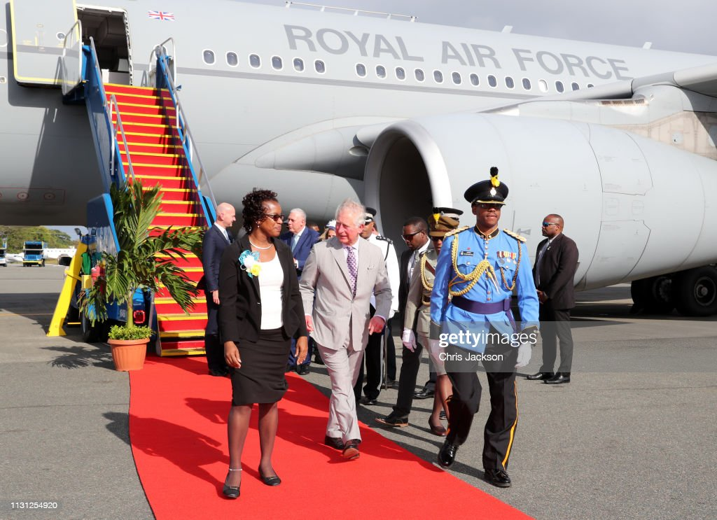 The Prince of Wales Visits Saint Lucia : News Photo
