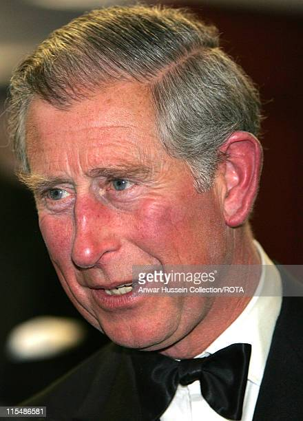Prince Charles Prince of Wales arrives at the Royal world premiere of the film Stairway to Heaven in Leicester Square London on April 30 2007...