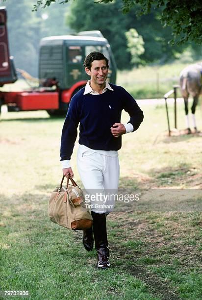 Prince Charles Prince of Wales at Cirencester Polo Club