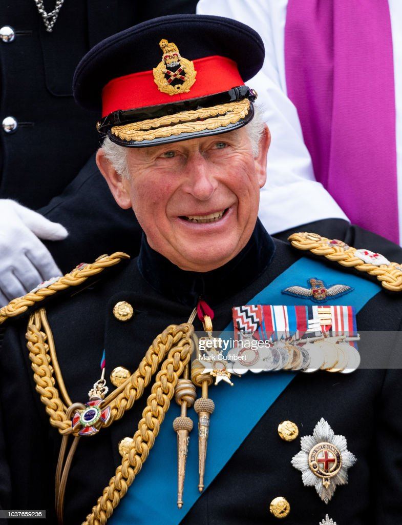 The Prince Of Wales Attends Consecration Service