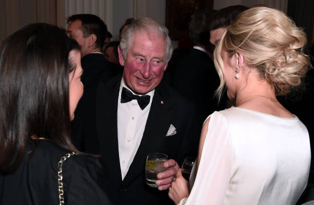 GBR: The Prince Of Wales Attends A Dinner In Aid Of The Australian Bushfire Relief And Recovery Effort