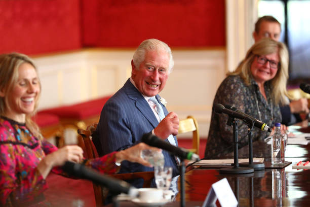 GBR: The Prince Of Wales Hosts A Meeting For The Prince's Trust Group