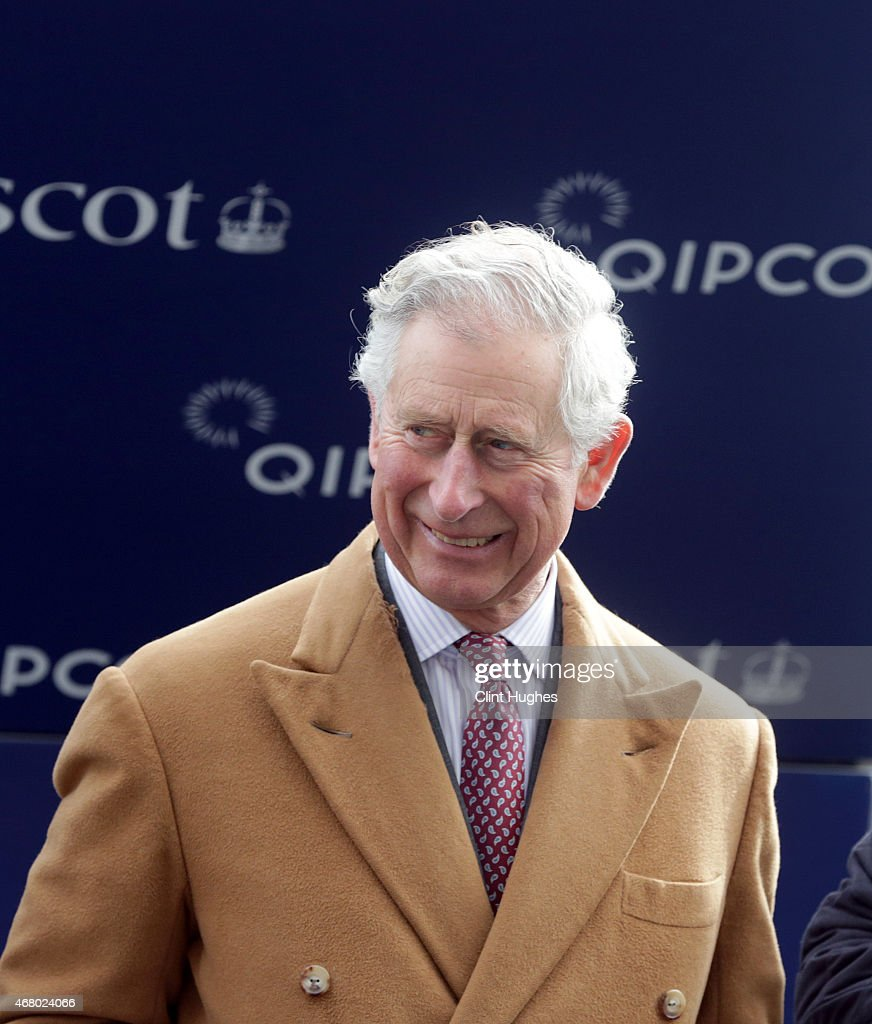 Prince Charles, Prince of Wales attends a presentation at Ascot Racecourse on March 29, 2015 in Ascot, England.