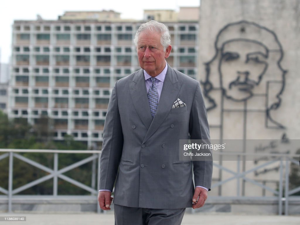 CUB: The Prince Of Wales And Duchess Of Cornwall Arrive In Cuba