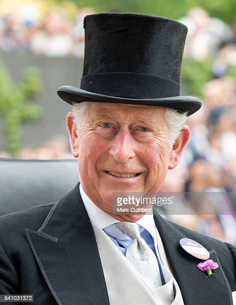 Prince Charles Prince of Wales attends day 5 of Royal Ascot at Ascot Racecourse on June 18 2016 in Ascot England