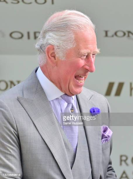Prince Charles, Prince of Wales attends Royal Ascot 2021 at Ascot Racecourse on June 16, 2021 in Ascot, England.