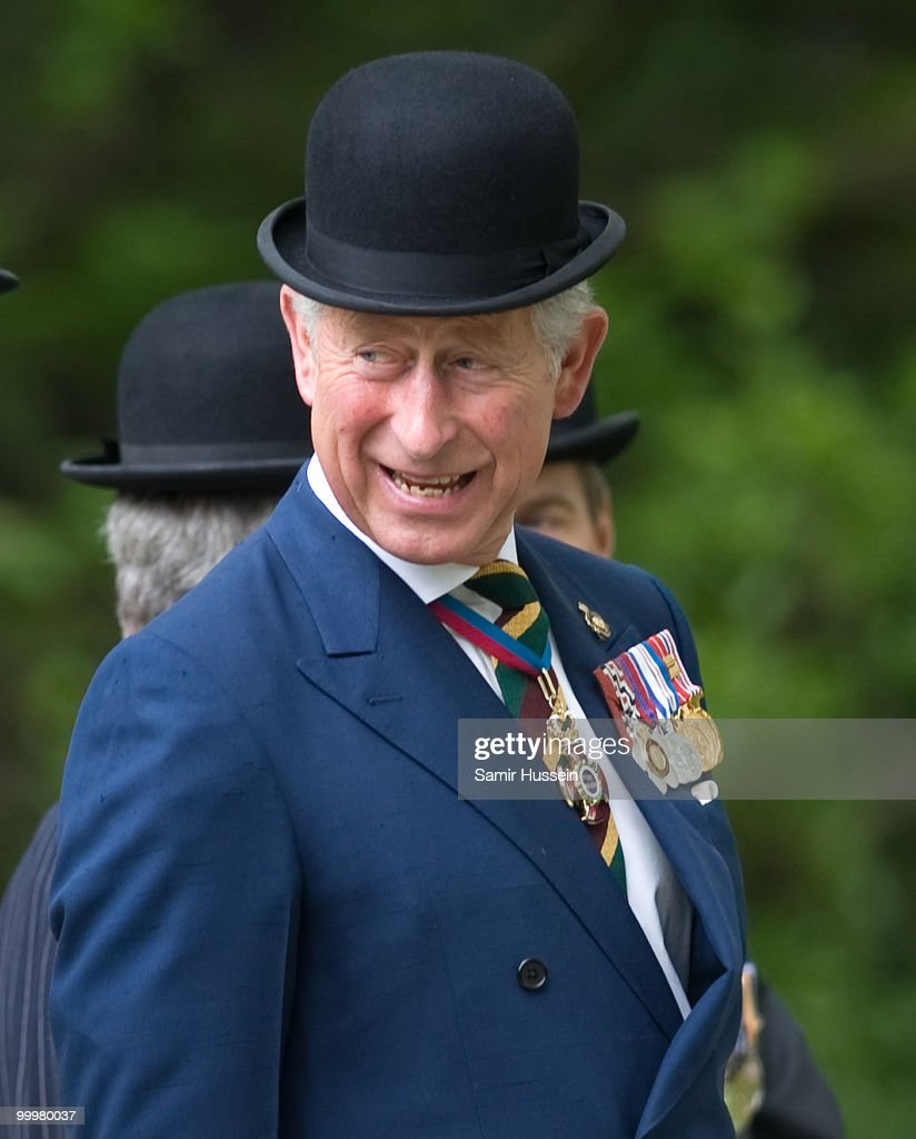 Prince Charles, Prince of Wales attends the Combined Cavalry Old Comrades Parade and Memorial Service in Hyde Park on May 9, 2010 in London, England.