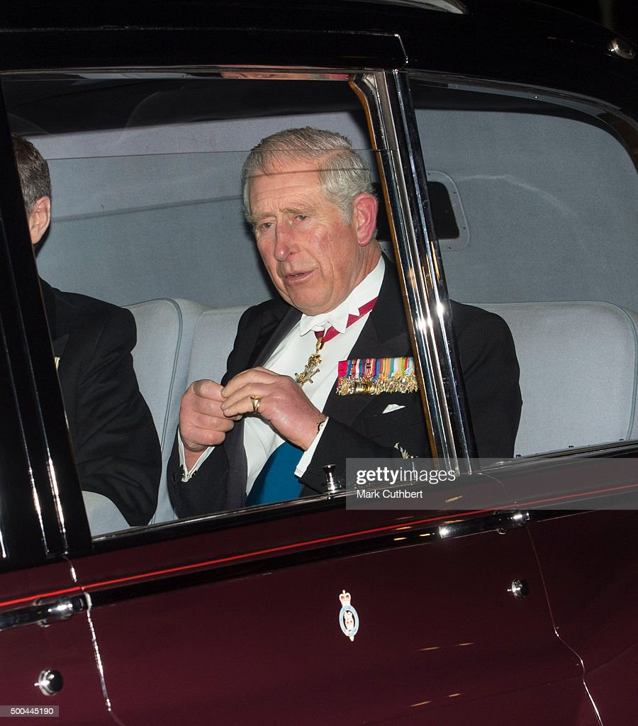 Prince Charles, Prince of Wales attends the Diplomatic Reception at Buckingham Palace on December 8, 2015 in London, England.