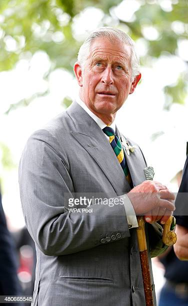Prince Charles Prince of Wales attends The Great Yorkshire Show on July 14 2015 in Harrogate England