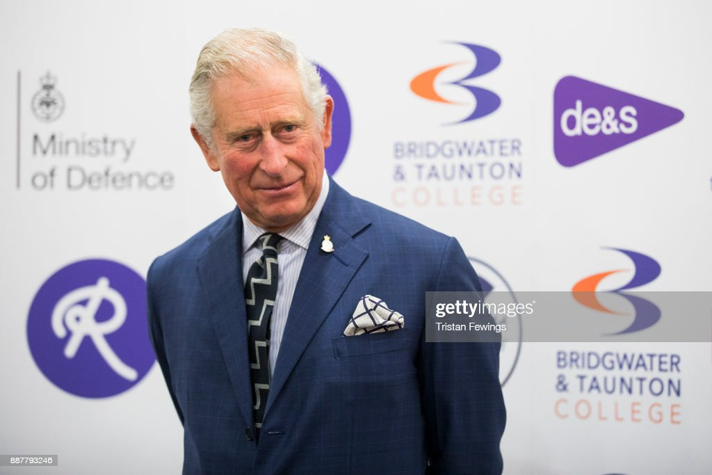 Prince Charles, Prince of Wales attends the MOD Apprenticeship Awards held at The Ministry Of Defence on December 7, 2017 in London, England. The annual event celebrates the achievements of Defence Engineering apprentices which is run by the MOD's Department for Equipment and Support (DE&S).This year His Royal Highness presented the inaugural Prince of Wales's Award for Services to Defence Engineering.