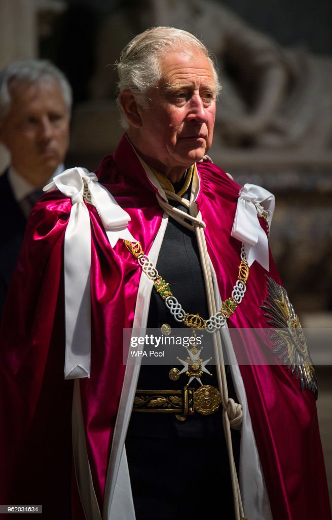 The Prince Of Wales Attends The Bath Service At Westminster Abbey
