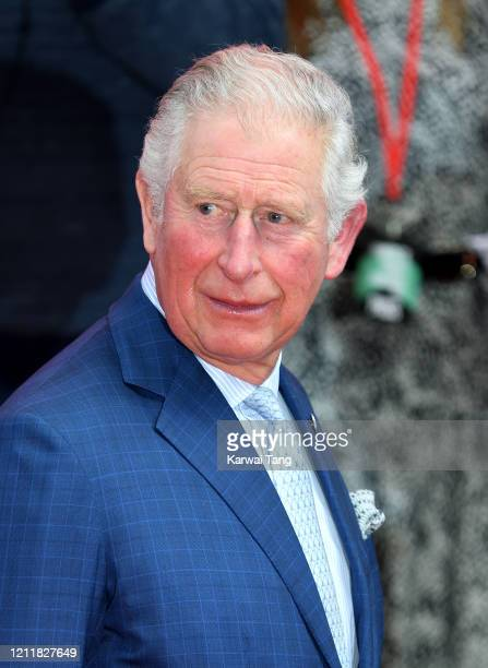 Prince Charles, Prince of Wales attends the Prince's Trust And TK Maxx & Homesense Awards at London Palladium on March 11, 2020 in London, England.