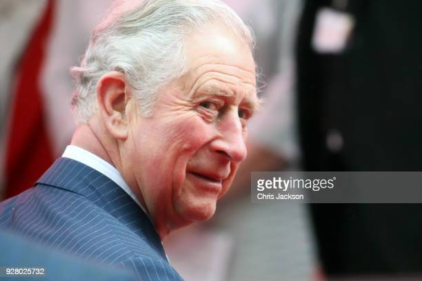 Prince Charles, Prince of Wales attends 'The Prince's Trust' and TKMaxx with Homesense Awards at London Palladium on March 6, 2018 in London, England.
