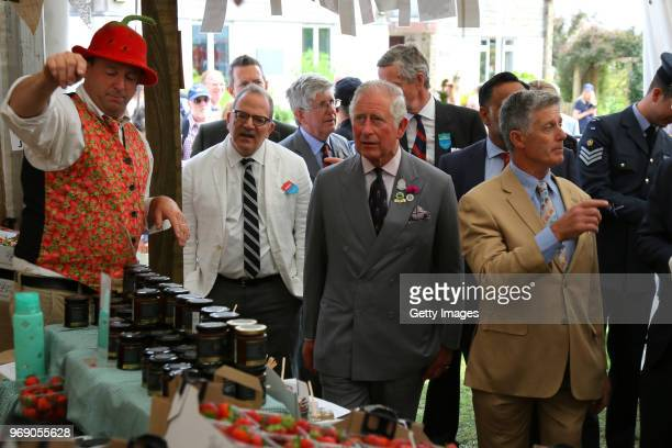 Prince Charles Prince of Wales attends the Royal Cornwall Show on June 7 2018 in Wadebridge England