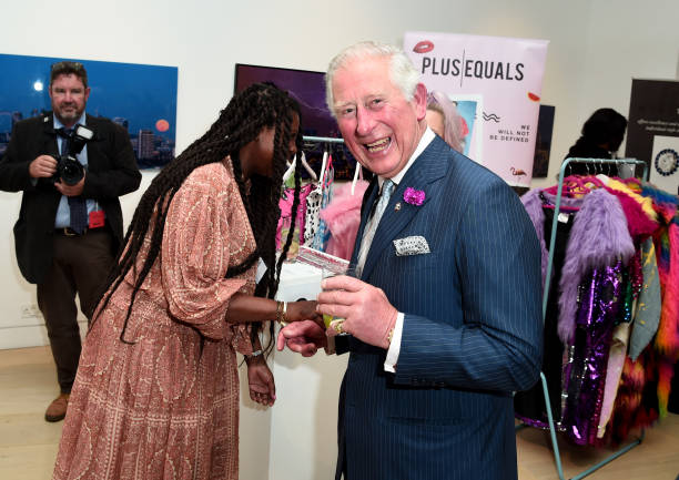 "GBR: The Prince Of Wales Attends ""Youth Can Do it"" Prince's Trust Reception"