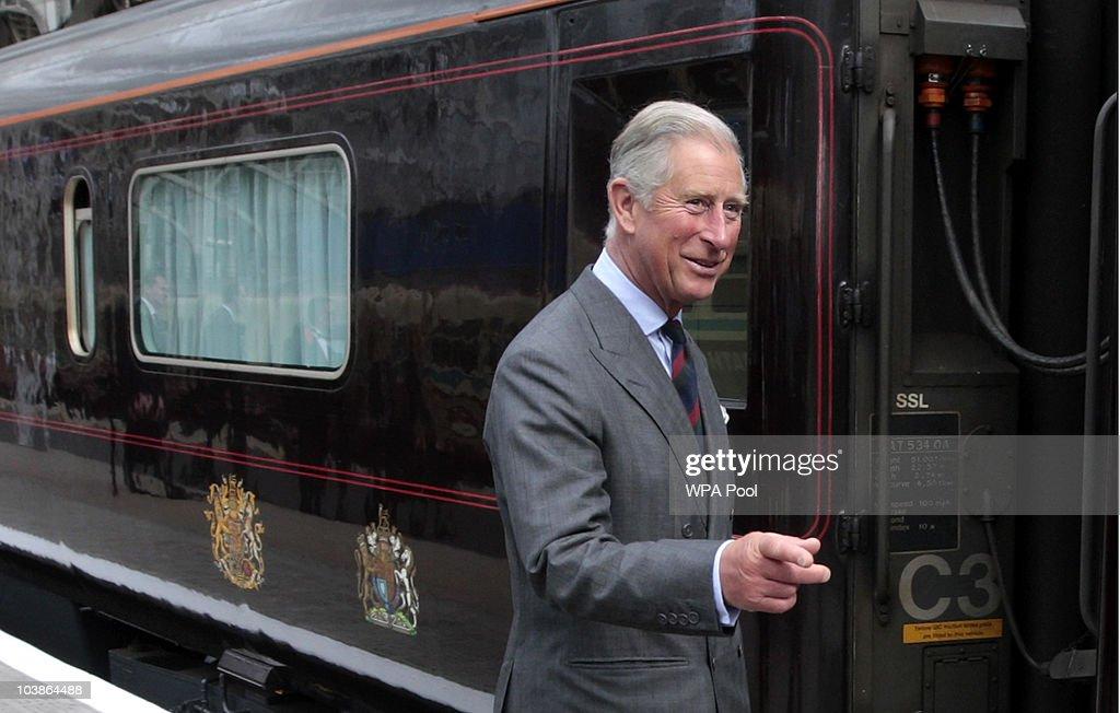 Prince Charles Of Wales Visits Glasgow : News Photo