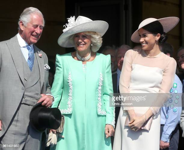 Prince Charles Prince of Wales Camilla Duchess of Cornwall and Meghan Duchess of Sussex attend The Prince of Wales' 70th Birthday Patronage...