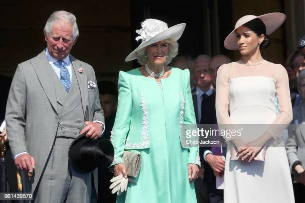 Prince Charles Of Wales Camilla Duchess Cornwall And Meghan Sussex Attend The