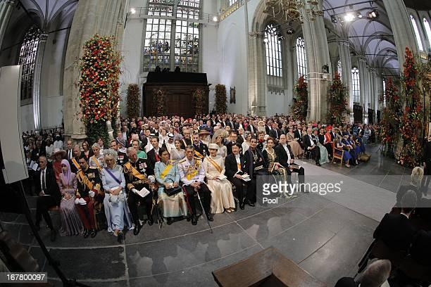 Prince Charles Prince of Wales Camilla Duchess of Cornwall Crown Prince Vajiralongkorn of Thailand Princess Sirindhorn of Thailand Crown Prince...