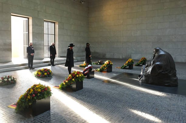 DEU: Prince Charles And Camilla Visit Berlin On National Day of Mourning
