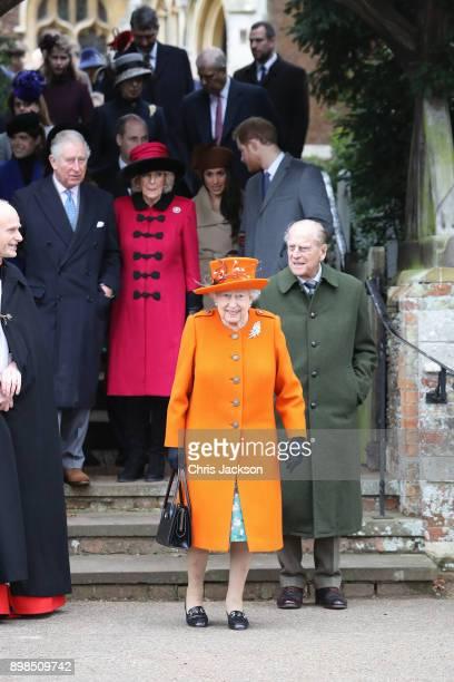 Prince Charles, Prince of Wales, Camilla, Duchess of Cornwall, Queen Elizabeth II, Prince Philip, Duke of Edinburgh, Meghan Markle and Prince Harry...