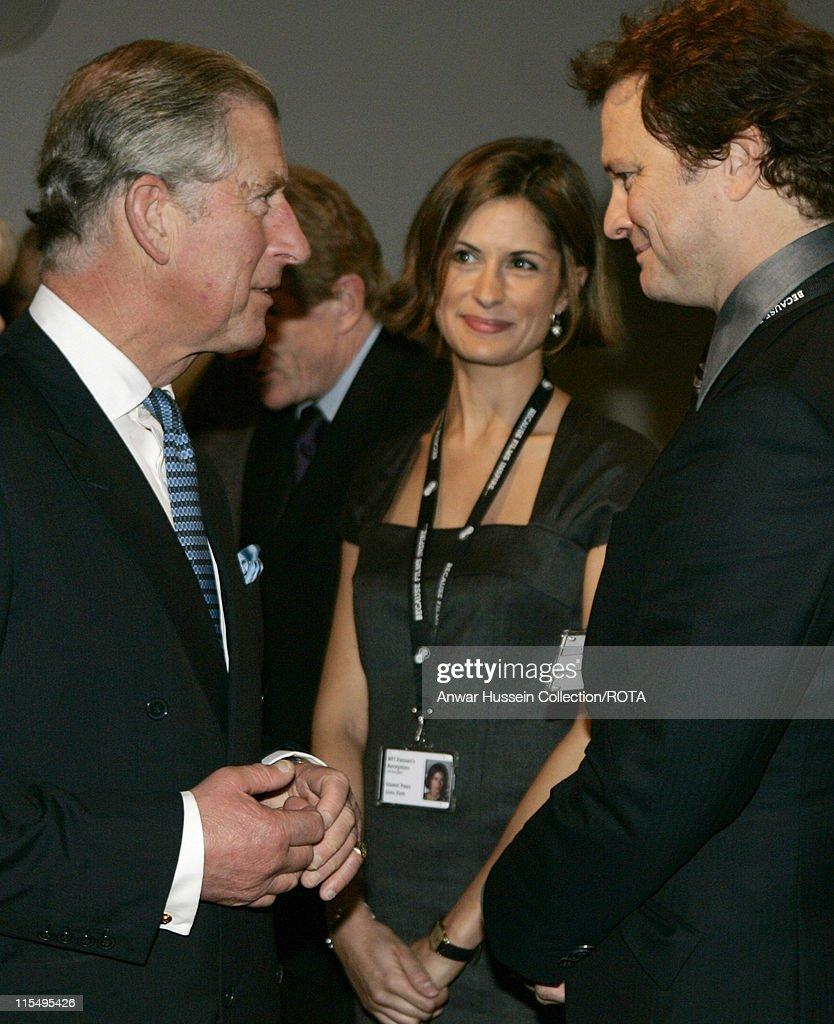 Prince Charles and Camilla Visit the British Film Institute