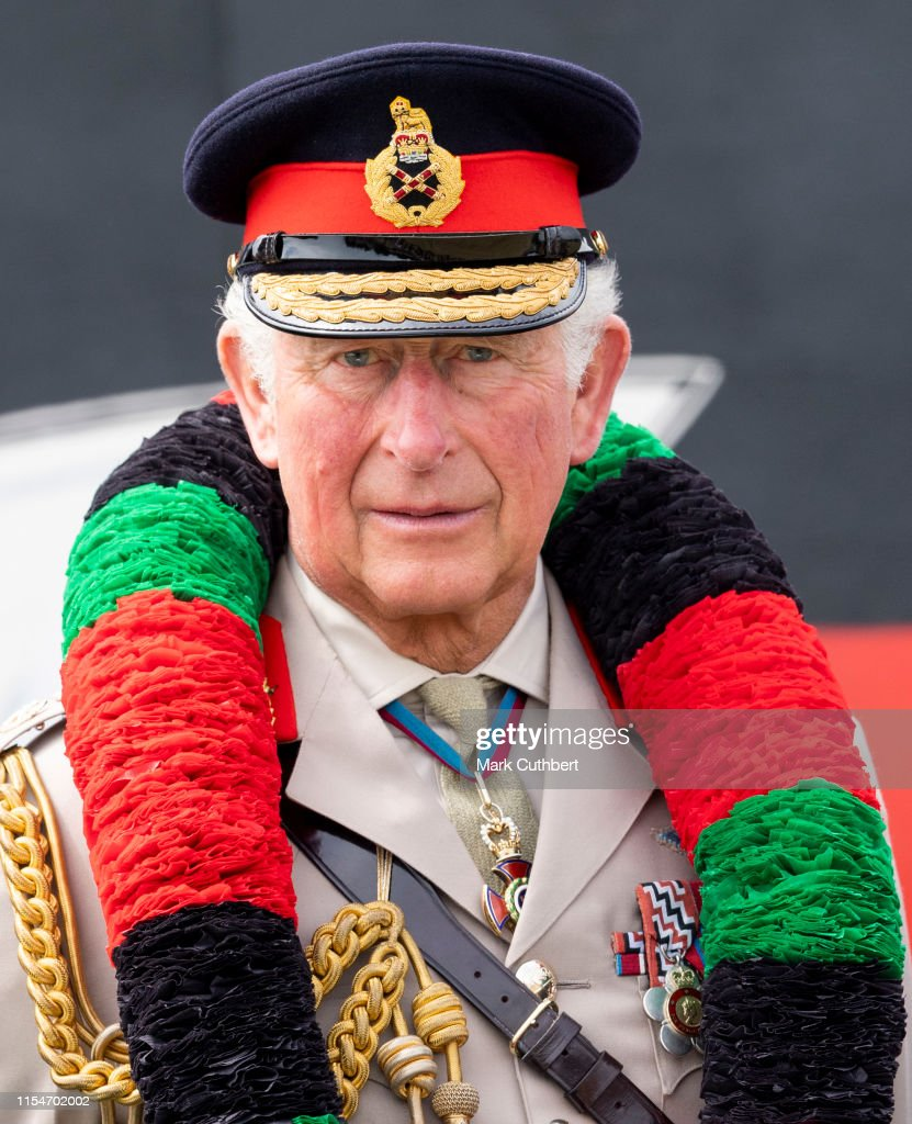 The Prince Of Wales Visits The Royal Gurkha Rifles, Sir John Moore Barracks : News Photo
