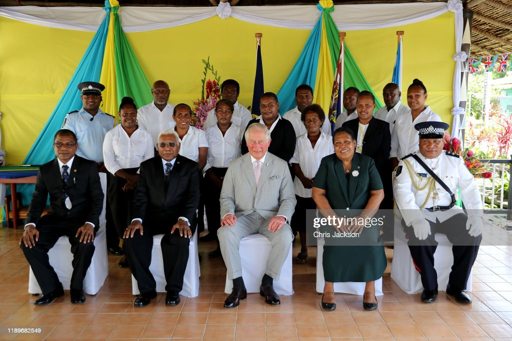 The Prince of Wales Visits Solomon Islands - Day 2 : News Photo
