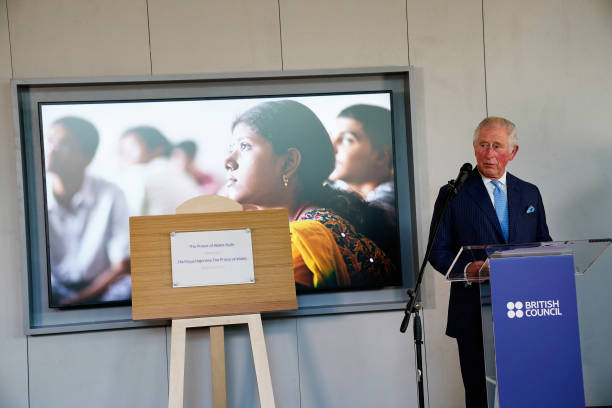 GBR: The Prince Of Wales Visits The British Council