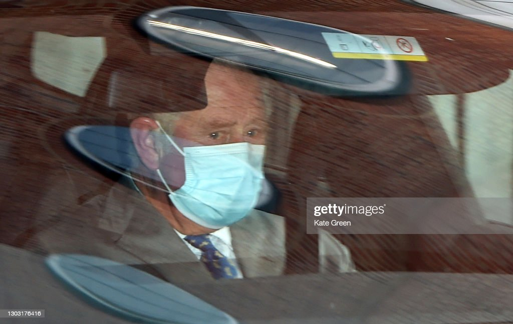 Prince Philip Is Admitted To King Edward VII's Hospital In London As Precautionary Measure : Fotografía de noticias
